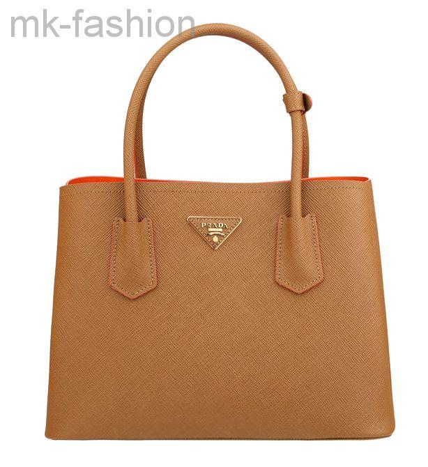 Сумка Prada Saffiano Cuir Double Bag