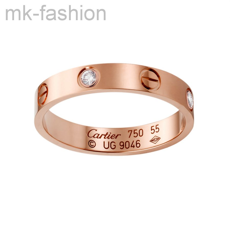 Cartier (розовое золото) кольцо
