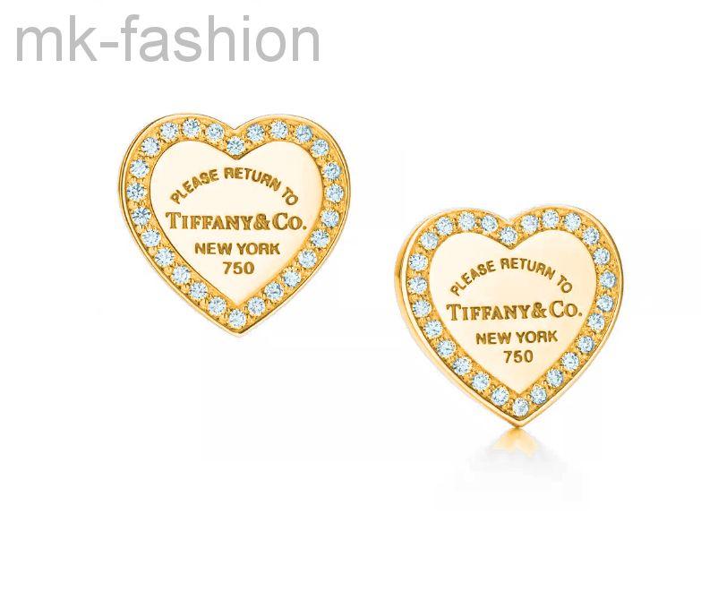 Серьги Tiffany&Co heart tag