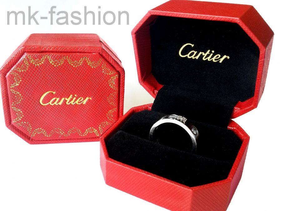 Коробка Cartier для колец или сережек